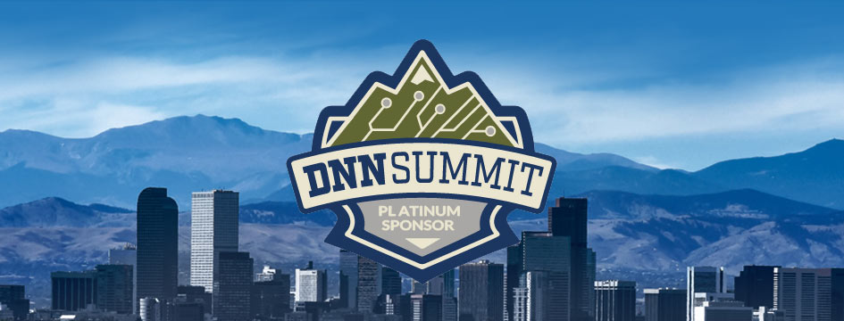 Proud Sponsor of DNN Summit 2017