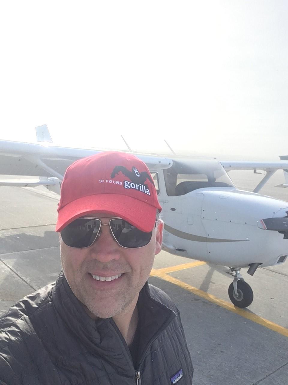 10 Pound Gorilla Hat with Pilot