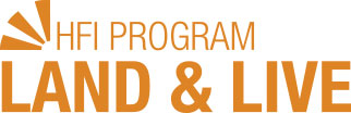 HFI Program Land & Live logo