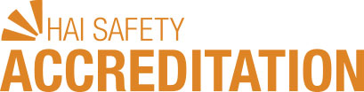 HAI Safety Accreditation logo