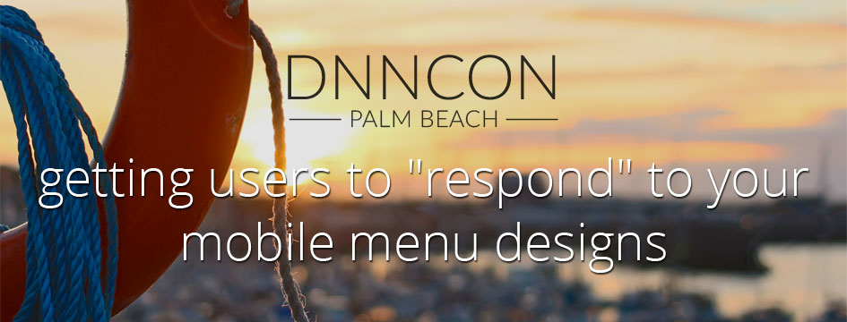 "Getting Users to ""Respond"" to Your Mobile Menu Designs"