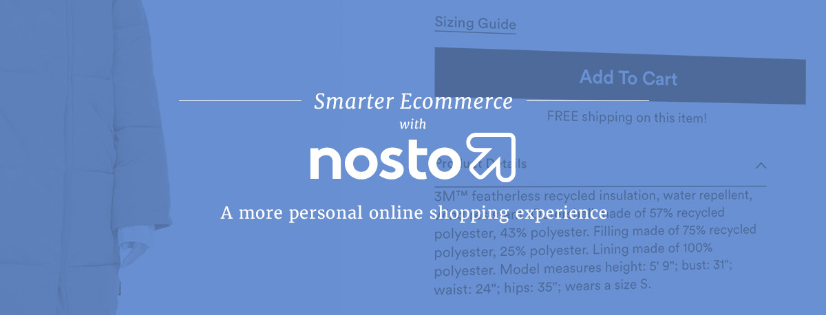 Increase E-commerce Sales with Nosto's Content Personalization