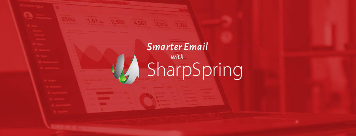 Smarter Email with SharpSpring